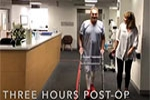 Less Pain and Faster Recovery after Knee Replacement Surgery